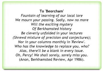 Beorcham poem