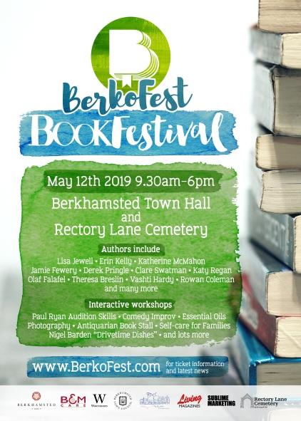 BerkoFest BookFestival A5 flyer