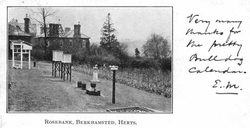 Edward Mawley postcard